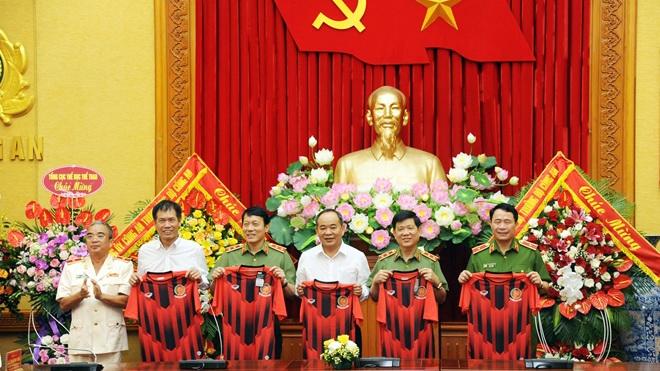 Công an Nhân dân đặt mục tiêu thăng hạng V-League
