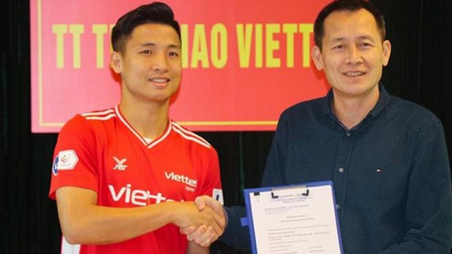 bóng đá Việt Nam, tin tức bóng đá, Bùi Tiến Dũng, trung vệ Bùi Tiến Dũng, Viettel, HAGL, V-League, BXH V-League, Viettel vs HAGL, lịch thi đấu V-League vòng 5