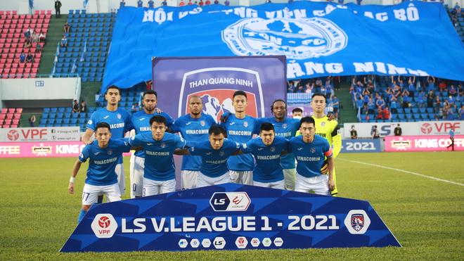 Cầu thủ Than Quảng Ninh nghỉ chơi  từ vòng 9 V-League vì bị nợ lương