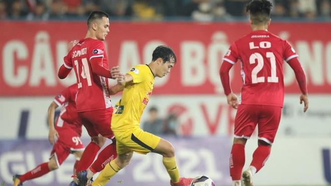video Hải Phòng 0-2 HAGL, Kiatisuk, Công Phượng, Chanathip, BXH V-League vòng 7, lịch thi đấu vòng 7 V-League, V-League, Văn Toàn, Brandao