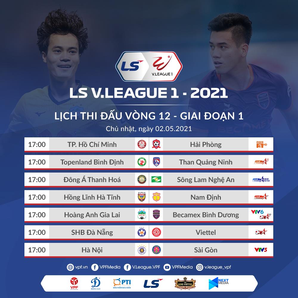 Truc tiep bong da, VTV6, VTV5, BĐTV, HAGL vs Bình Dương, Hà Nội vs Sài Gòn, trực tiếp bóng đá Việt Nam, xem trực tiếp V-League 2021, trực tiếp Hoàng Anh Gia Lai, xem VTV6