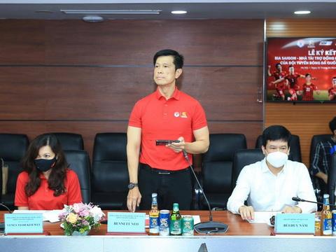bóng đá Việt Nam, tin tức bóng đá, bong da, tin bong da, dtvn, vn, park hang seo, DTVN, DTVN có nhà tài trợ mới, lịch thi đấu vòng loại thứ ba World Cup