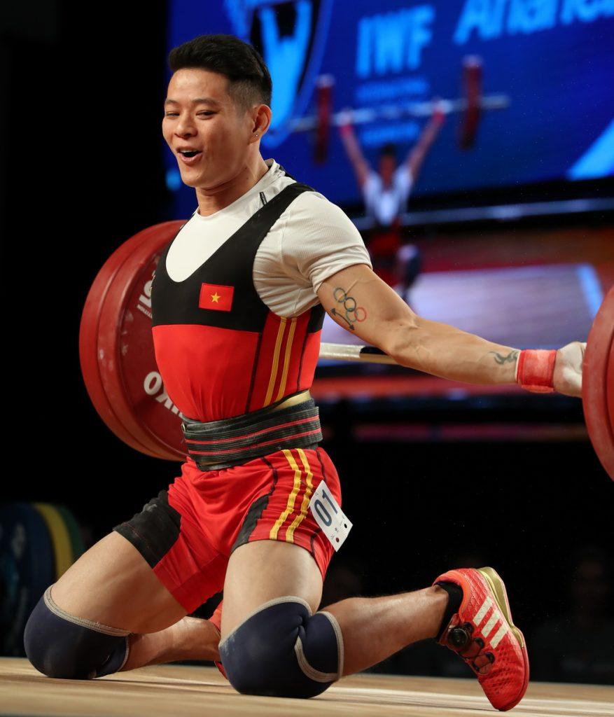 Olympic Tokyo, cử tạ, TTVN, Thể thao Việt Nam, Thạch Kim Tuấn, Vương Thị Huyền, Hoàng Thị Duyên, TTVH dự Olympic Tokyo