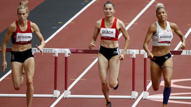 Hôm nay 2/8, Quách Thị Lan thi bán kết 400m vượt rào nữ Olympic 2021