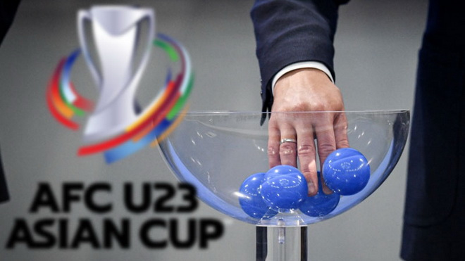 Bốc thăm vòng loại U23 châu Á 2022. Link xem trực tiếp bốc thăm vòng loại U23 châu Á