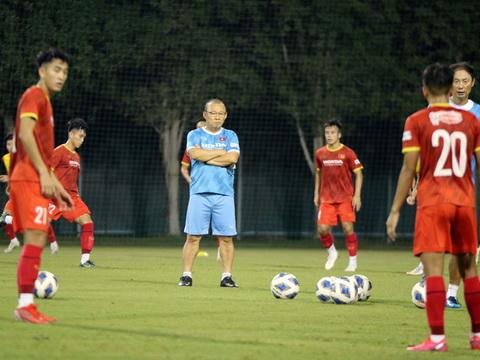 HLV Park Hang Seo hài lòng với cầu thủ U23 Việt Nam
