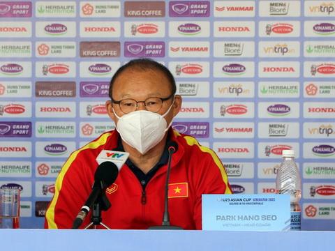 HLV Park Hang Seo: 'U23 Việt Nam cố gắng thắng cả hai trận'