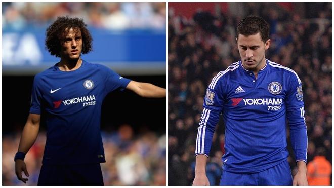 David Luiz bất mãn, Hazard khó chịu vì bị HLV Conte thay ra đầy khó hiểu