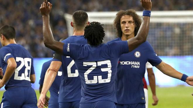 Chelsea 3-0 Arsenal: Batshuayi lập cú đúp, Pháo thủ thảm bại trước The Blues