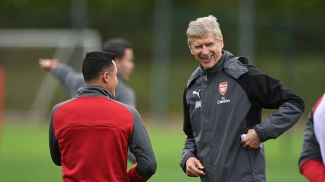 HLV Arsene Wenger tuyên bố 'Sanchez sẽ chấp nhận ở lại Arsenal'