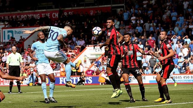 Video clip highlights bàn thắng trận Bournemouth 1-2 Man City
