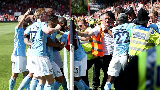 ĐIỂM NHẤN Bournemouth 1-2 Man City: David Silva vẫn là 'phù thủy'. City gặp vấn đề về thẻ phạt
