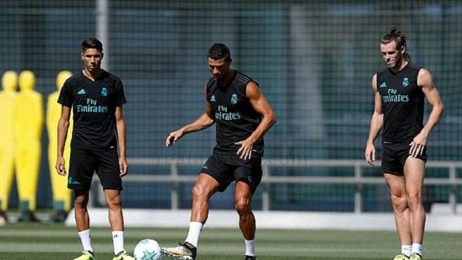 Ronaldo đã quay lại tập luyện, có thể đá trận gặp Man United ở siêu cúp châu Âu