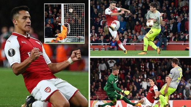 ĐIỂM NHẤN Arsenal 3-1 Cologne: Wenger thay đổi kịp thời. Đẳng cấp Sanchez và giá trị Kolasinac