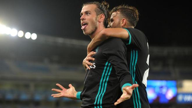 ĐIỂM NHẤN Sociedad 1-3 Real Madrid: Anoeta là sân khấu của Bale. Mayoral không phụ lòng tin Zidane