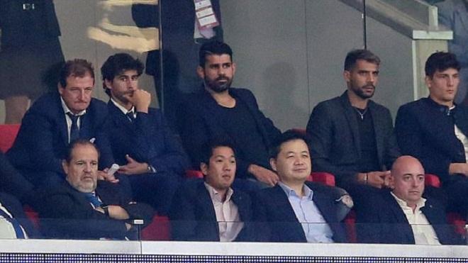 Diego Costa buồn ra mặt khi Atletico bị đội bóng cũ Chelsea ngược dòng