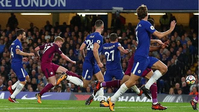 Video clip highlights bàn thắng trận Chelsea 0-1 Man City