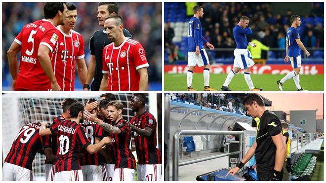AC Milan, Lindelof, Bayern… và 7 nỗi thất vọng của mùa 2017-18