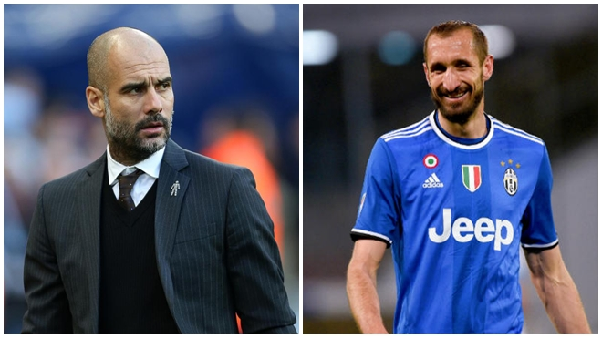Chiellini: 'Chiến thuật của Pep Guardiola đang hủy hoại các hậu vệ Italy'