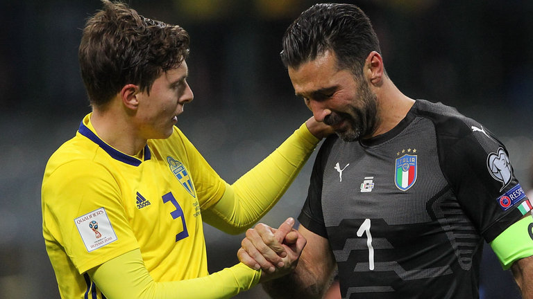 Video clip highlights trận Italy 0-0 Thụy Điển