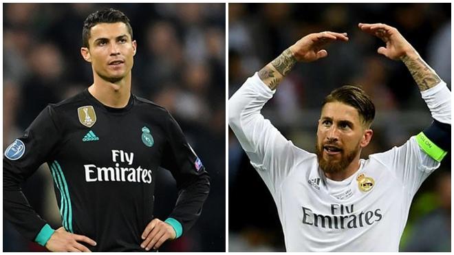 Chết cười với tình huống Ramos dứt điểm còn Ronaldo… cản phá giúp Tottenham