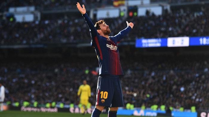Ăn mừng ngạo nghễ, Messi lại một lần nữa thách thức Bernabeu