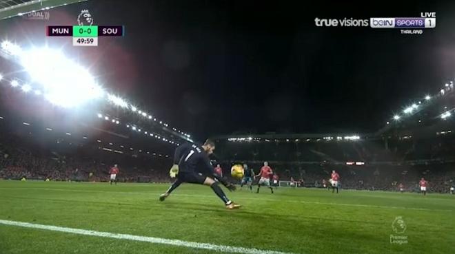 Video clip De Gea xuất thần dùng chân cứu thua cho M.U