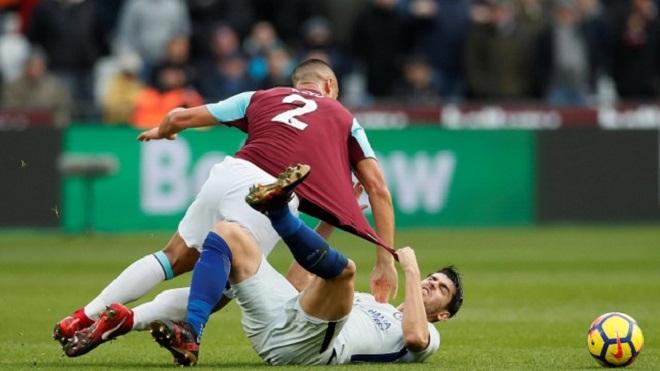 Video clip highlights bàn thắng trận West Ham 1-0 Chelsea