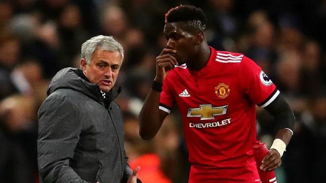 Mourinho: 'Tôi bối rối vì một số người quan trọng nói về vị trí của Pogba'