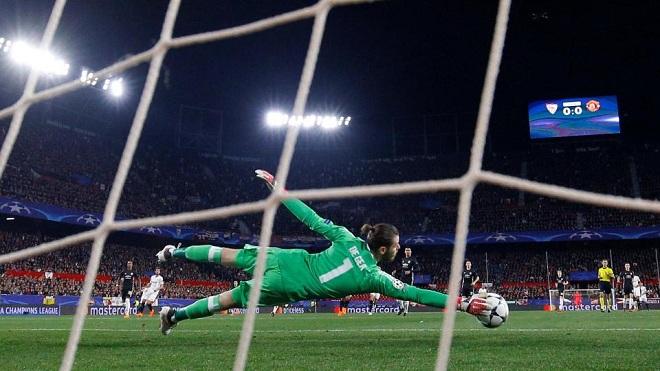 De Gea phản xạ như 'mèo', xứng danh thủ môn số 1 thế giới