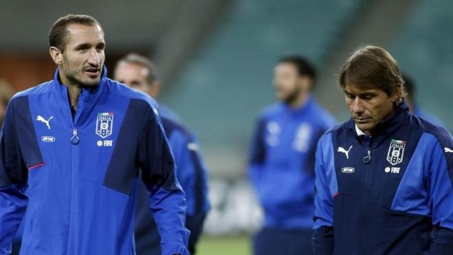Chiellini: 'Tập với Conte xong, bạn không mệt mà sẽ… chết luôn'