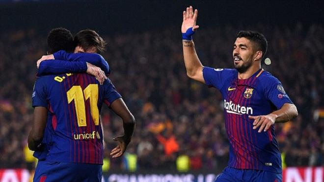 Ngả mũ trước pha kiến tạo không tưởng của Messi cho Dembele