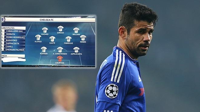 Diego Costa cay cú 'trả thù' Antonio Conte theo cách không giống ai