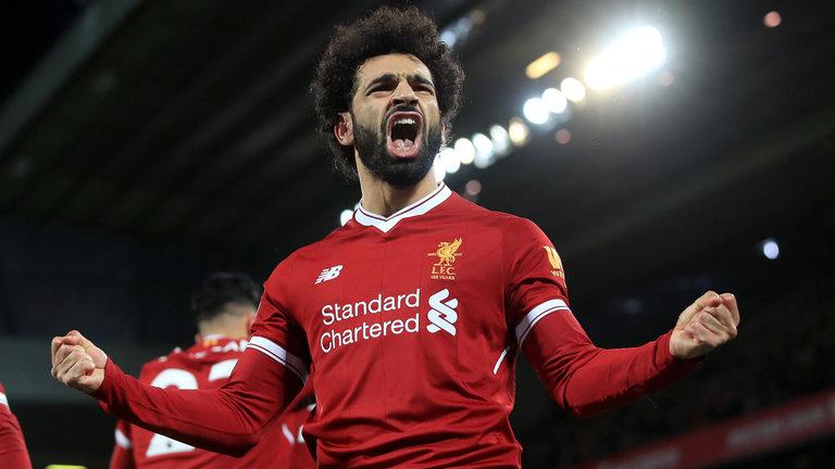 Salah trên đường phá kỷ lục của Ronaldo và Suarez