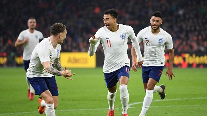 Hà Lan 0-1 Anh: Lingard sút xa ghi bàn giúp Tam sư chiến thắng