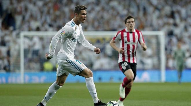 Video bàn thắng Real Madrid 1-1 Bilbao: Thoát thua nhờ bàn thắng muộn của Ronaldo