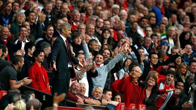 Arsene Wenger: 'Khi tôi nhìn lại, tôi nhận ra M.U là một đội bóng tuyệt vời'