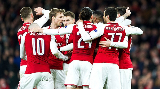 Video bàn thắng trận Arsenal 4-1 CSKA Moscow; Atletico Madrid 2-0 Sporting CP