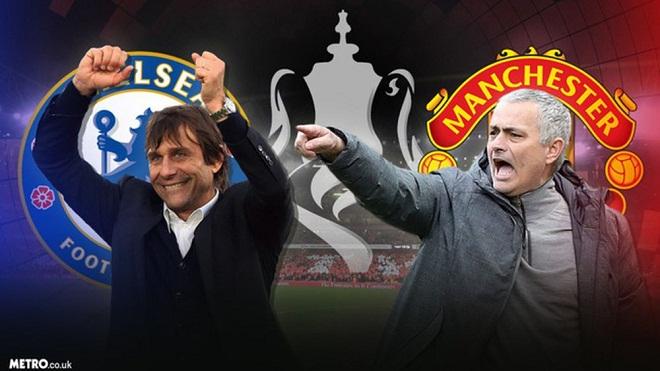 Chung kết FA Cup: M.U vượt trội Chelsea ở mọi vị trí, trừ hàng tiền vệ