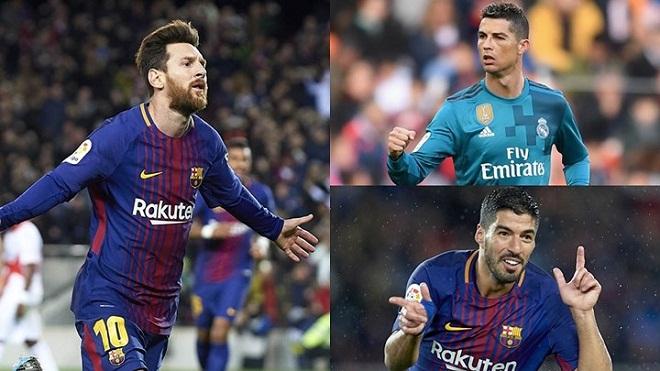 Hạ màn Liga 2017-18: Vua phá lưới Messi, Iniesta chia tay trong nước mắt