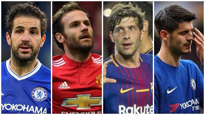 Tây Ban Nha đã buộc một đội hình cực mạnh phải ngồi nhà xem World Cup 2018