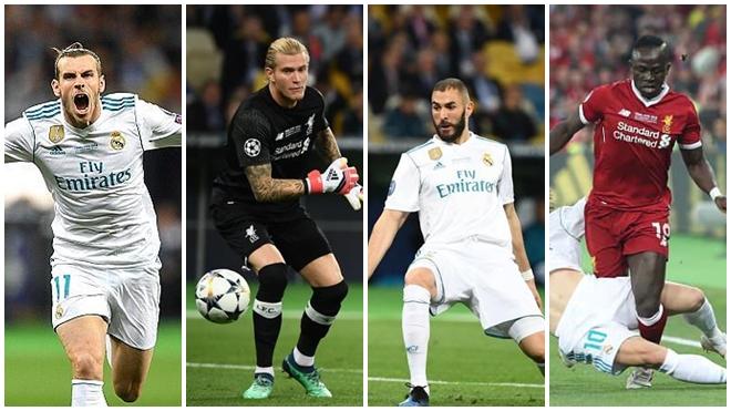 Chấm điểm Real Madrid 3-1 Liverpool: Gareth Bale hay nhất, Karius xứng đáng nhận điểm 0