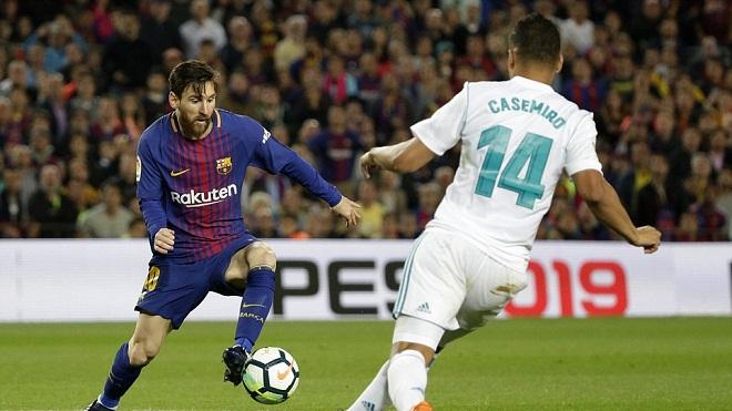 Video clip highlights bàn thắng trận Barcelona 2-2 Real Madrid: Bất phân thắng bại