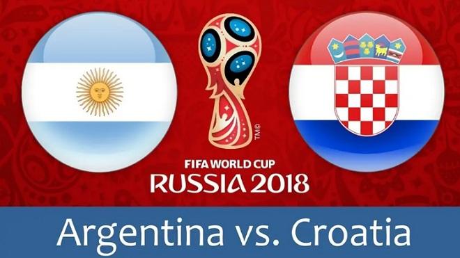 TRỰC TIẾP Argentina vs Croatia (01h00, 22/6)