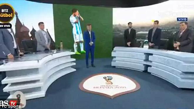 SỐC: Truyền hình Argentina dành... 1 phút mặc niệm sau trận thua Croatia