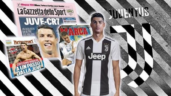 Real sốc khi Cristiano Ronaldo đồng ý gia nhập Juventus