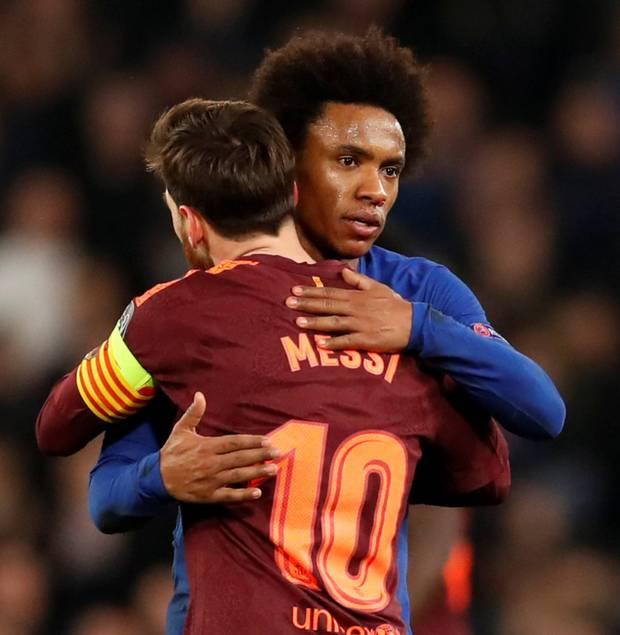 CHUYỂN NHƯỢNG 21/7: Barca gửi đề nghị 55 triệu bảng cho Willian...