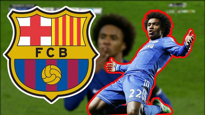 Barcelona tăng đề nghị hỏi mua Willian lên 65 triệu bảng