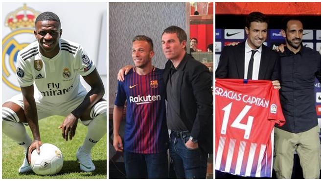 Chuyển nhượng La Liga: Barcelona, Real Madrid, Atletico Madrid