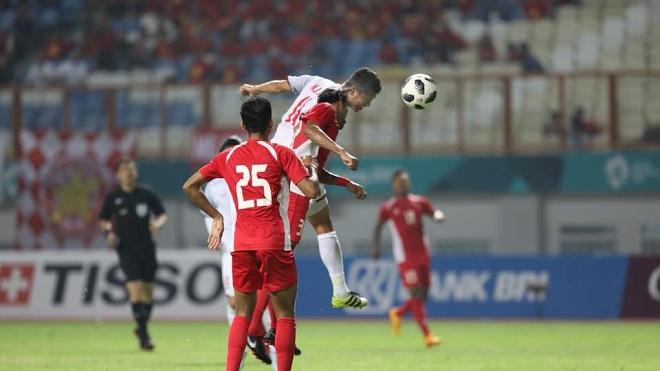 Xem pha dứt điểm như 'bóng đá Anh' của Anh Đức trước U23 Nepal